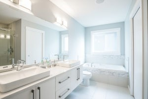 Bathroom by Edmonton new home builder City Homes