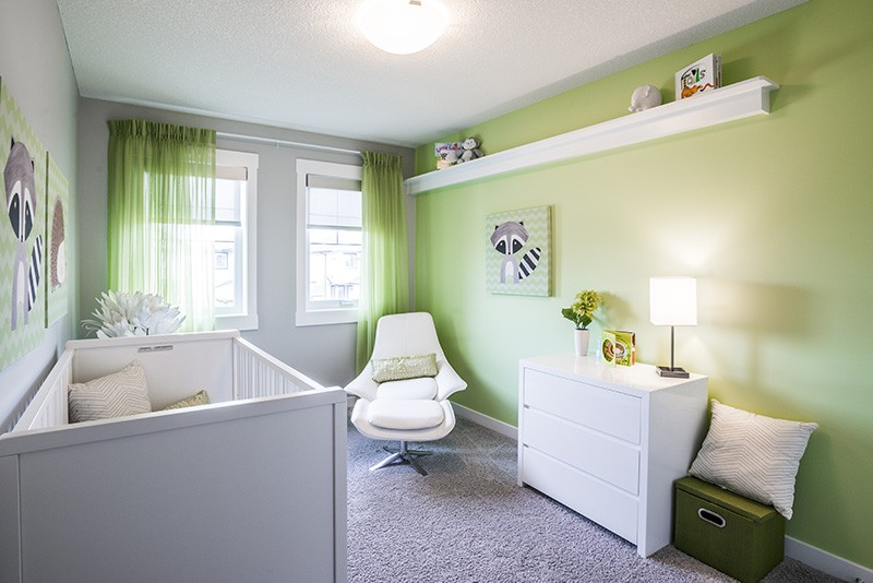 Nursery by Edmonton home builder City Homes