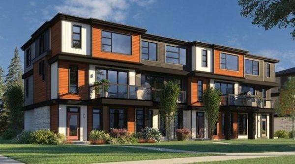 Townhome in South Edmonton by City Homes Master Builder