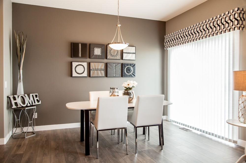 Dining room by City Homes, Edmonton new home builder