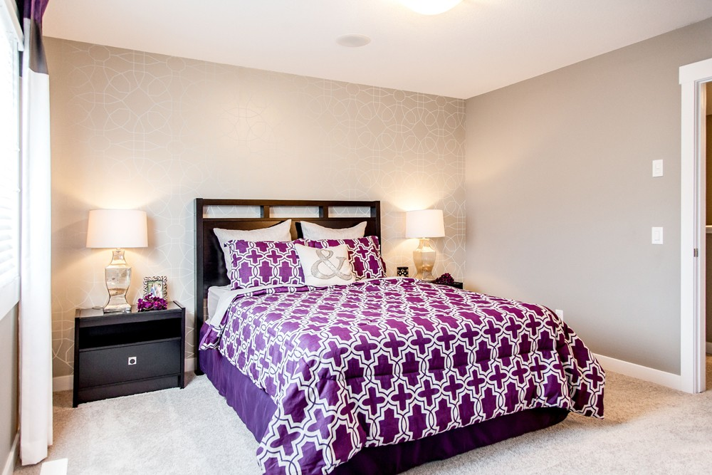 Master bedroom by City Homes, Edmonton new home builder