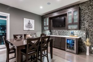Dining room built by new home builder City Homes Master Builder