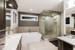 Custom master bedroom by City Homes Master builder, Edmonton