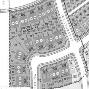 North Edmonton community map