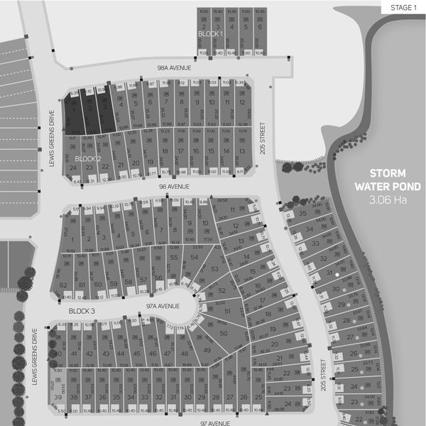 Stewart Greens Stage Map Edmonton