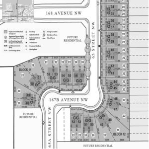 City Homes north edmonton community map