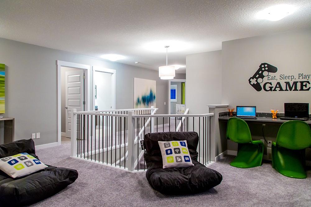 Bonus room in single family home built by City Homes Master Builder