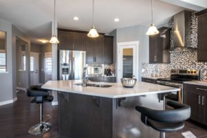 Kitchen space in single family home Edmonton
