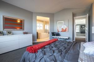 Master bedroom by City Homes Master Builder, Edmonton