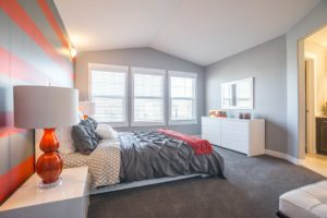 Master bedroom by City Homes new home builder