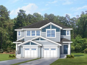 Fushun A1 & A2 new home models by Edmonton home builder City Homes