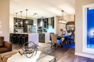 Kitchen space by new home builder City Homes Master Builder