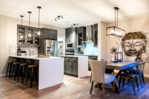 Kitchen by new home builder City Homes Master Builder