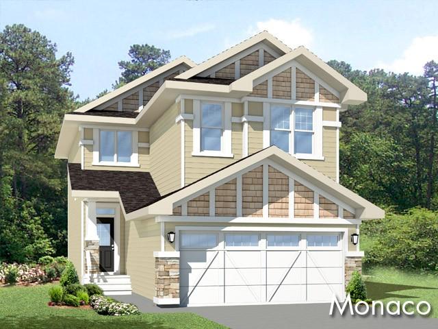 Monaco new home model by Edmonton home builder City Homes