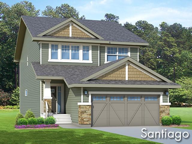 Santiago new home model by Edmonton home builder City Homes