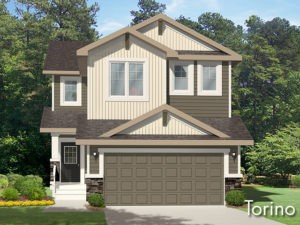 Torino new home model by Edmonton home builder City Homes