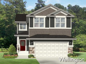 Wellington new home model by Edmonton home builder City Homes
