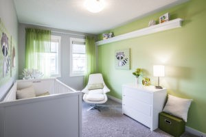 Baby's room by City Homes Master Builder