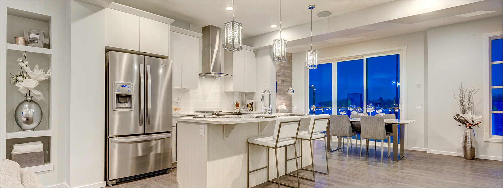 Edmonton New Home Builder City Homes Townhome Kitchen