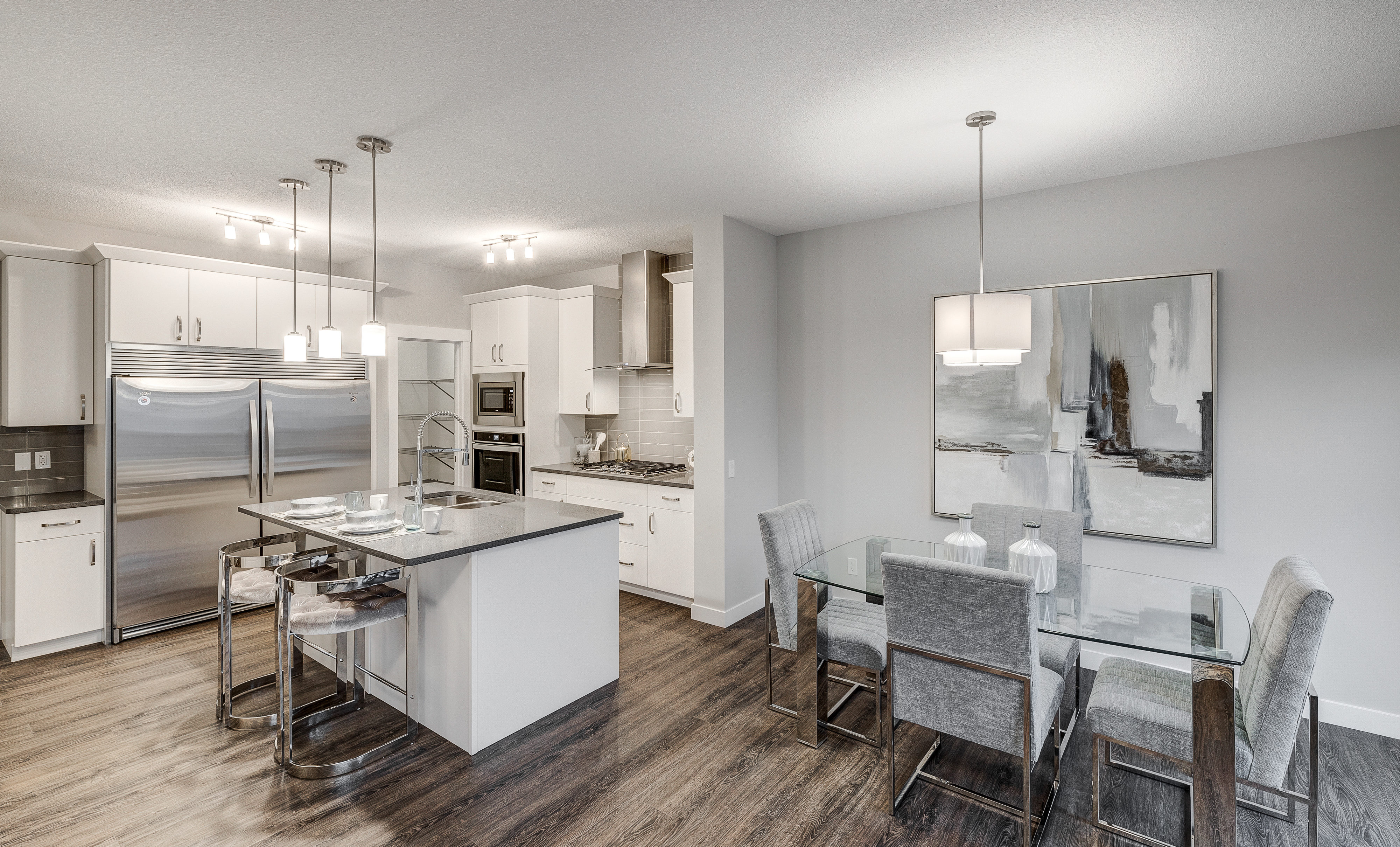 Castor Model in West Edmonton City Homes Website Slide