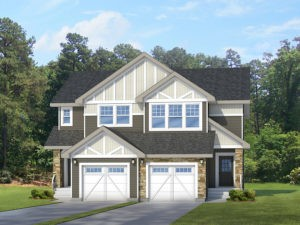 New home builder City Homes Master Builder duplex model