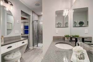 New Home Master Builder Duplex Bedroom Ensuite in North Edmonton