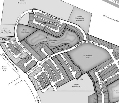 Cy Becker Community Map
