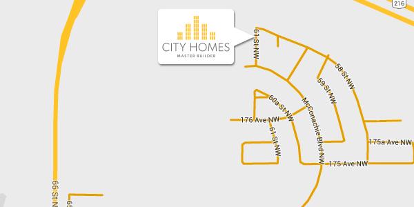 Community Map for McConachie