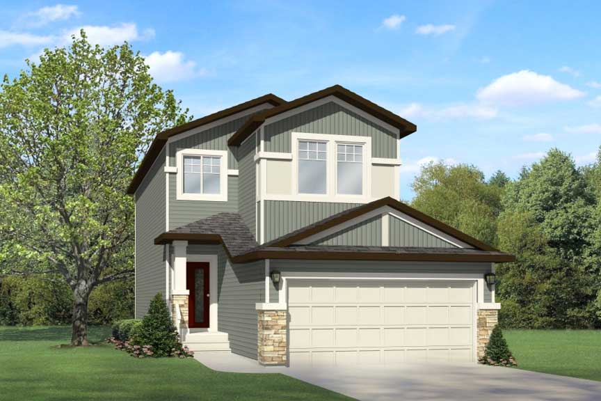 Edmonton home model by City Homes Master Builder