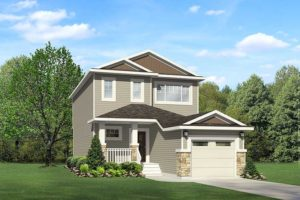 Single family home from Edmonton new home builder City Homes