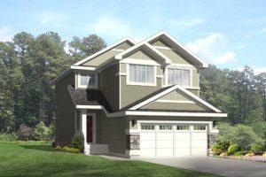 New home model in Edmonton from City Homes Master Builder Edmonton