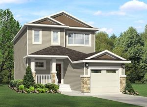 Single family home from City Homes Master Builder Edmonton, new home builder