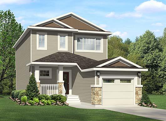 Single family home from City Homes Master Builder Edmonton, new home builder