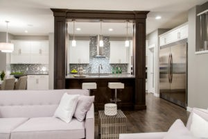 Main living area of new home from City Homes Master Builder