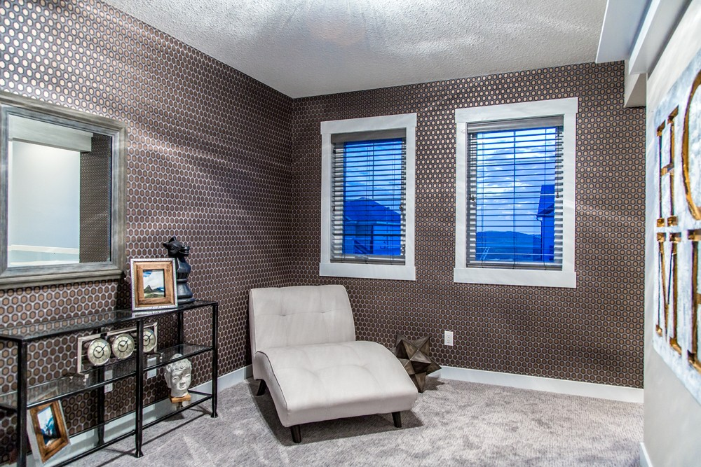 Optional Office Space in single family home, Edmonton new home builder City Homes Master Builder