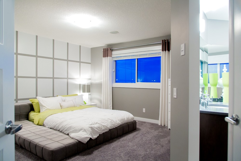 Master bedroom done by new Home Builder City Homes Master Builder