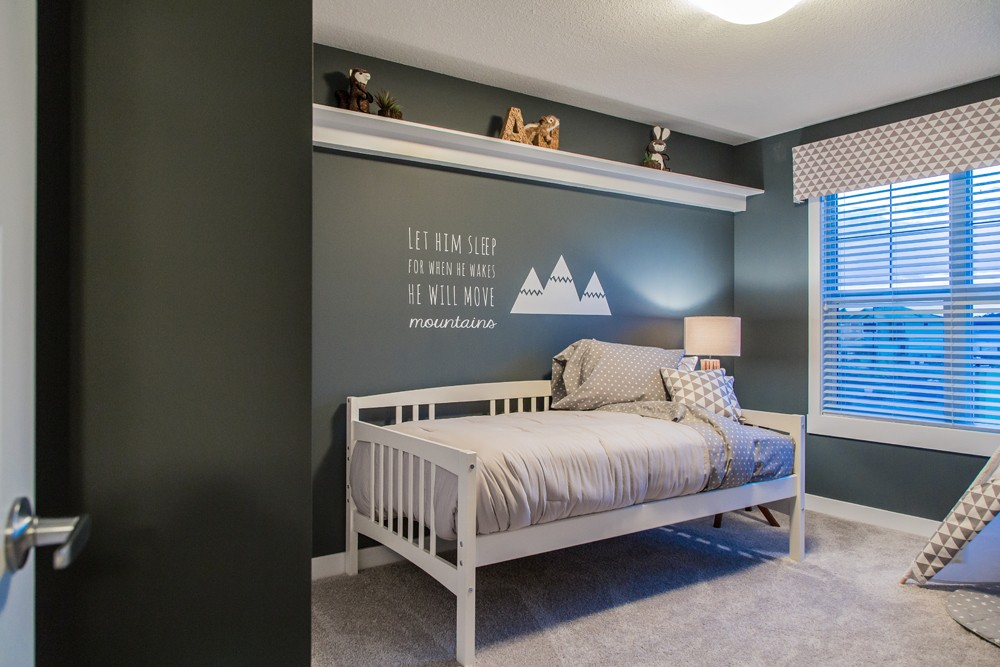 Children's room in Edmonton done by New Home Builder City Homes Master Builder