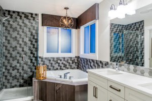 Ensuite bathroom in single family home Edmonton