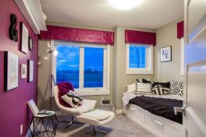 Childrens room by Edmonton new home builder City Homes Master Builder