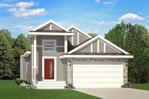 Bungalow new home model from City Homes Master Builder