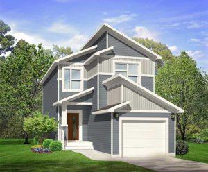 Single family home model by City Homes Master Builder in Edmonton