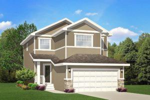 New home builder City Homes Master Builder home model