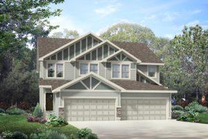Attached Garage Duplex Home Edmonton