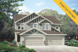 Attached garage duplex in Edmonton, New Home Builder City Homes Master Builder