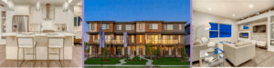 Caspia townhomes banner images