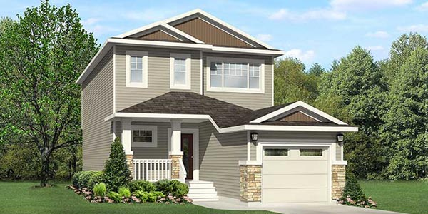 City Homes Edmonton, New Home Builders Single Family Home in Edmonton