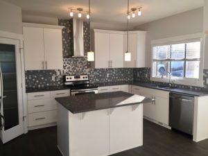 Edmonton home builder single family kitchen