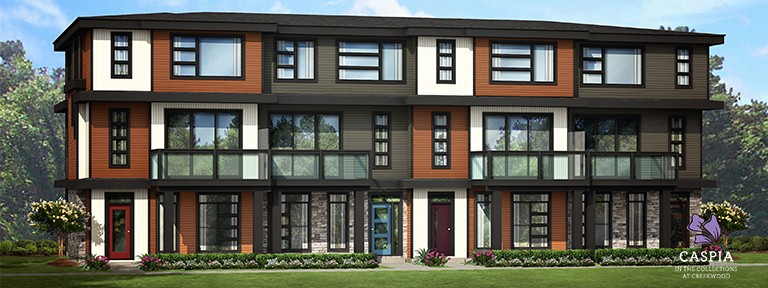 Caspia Townhomes by new home builder Edmonton