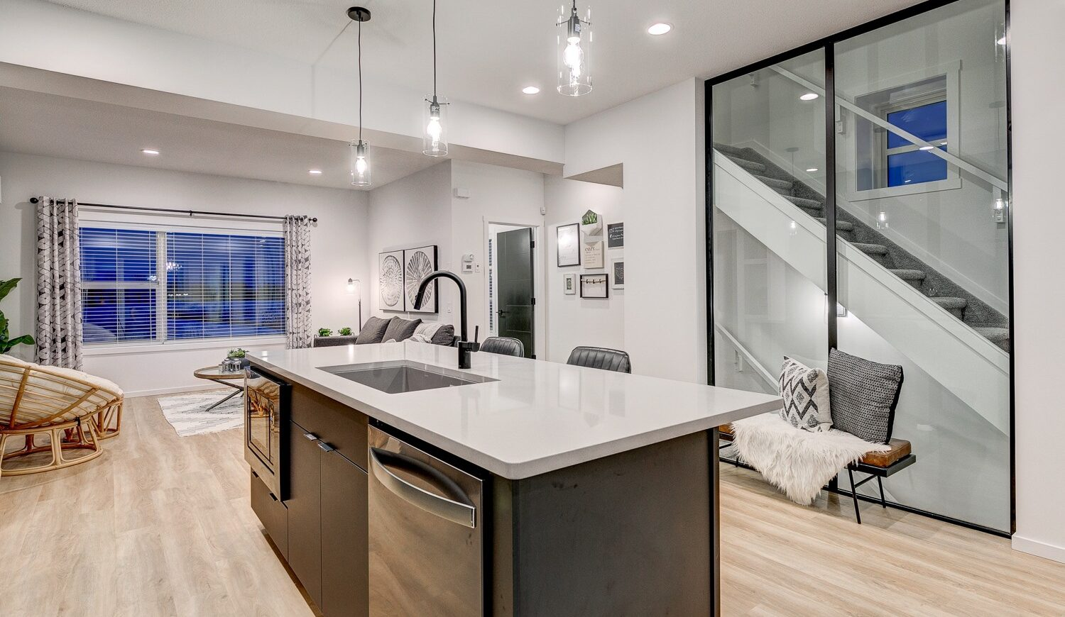 Caspia Townhomes by City Homes Master Builder Kitchen Area