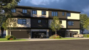 Caspia double garage city homes Master Builder